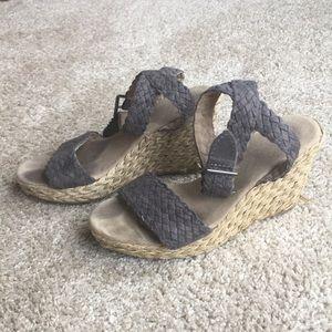Gap espadrille wedge sandals